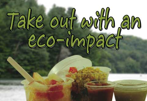 Take out with an eco-impact